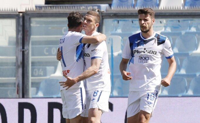 Düşene bir tekme de Atalanta'dan: 5-2!