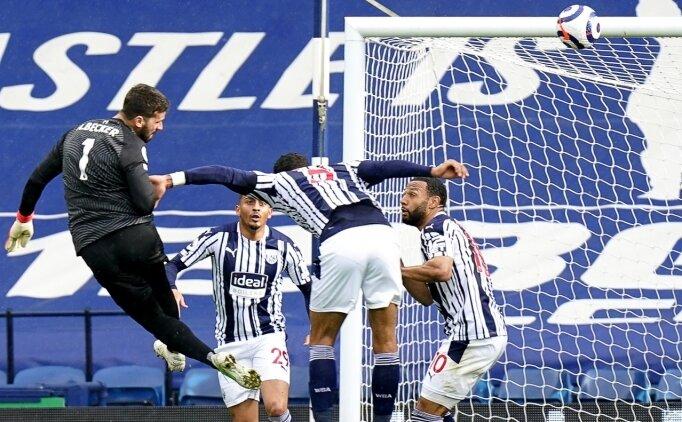 İnanılmaz: Liverpool, Alisson'un golüyle kazandı
