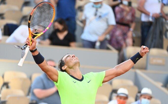Fransa Açık'ta Nadal yarı finale çıktı