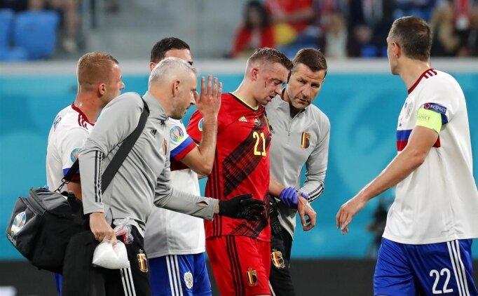 Timothy Castagne EURO 2020'yi kapattı