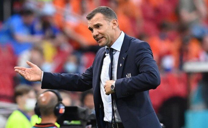 Andriy Shevchenko: 'Takımıma teşekkür ederim'