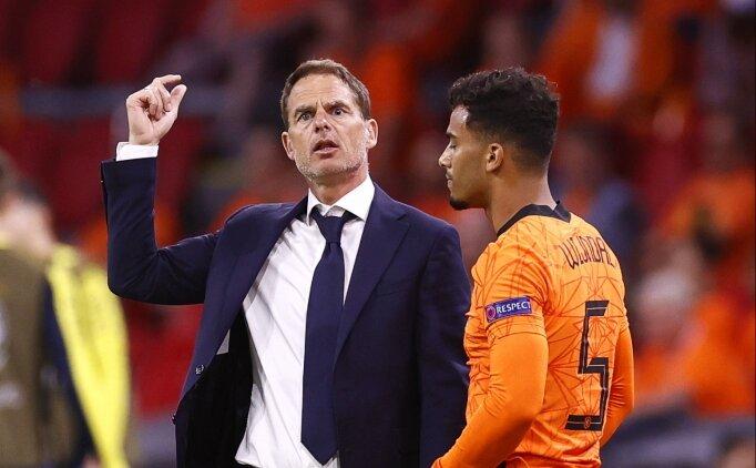Frank de Boer: 'İyi bir Hollanda takımı gördüm'