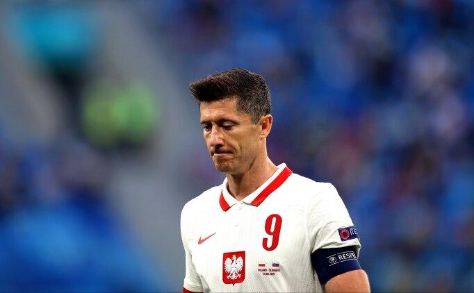 Robert Lewandowski: 'Kırmızı kart bizi kırdı'