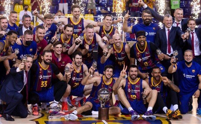 Barcelona, Real Madrid'i geçerek şampiyon oldu
