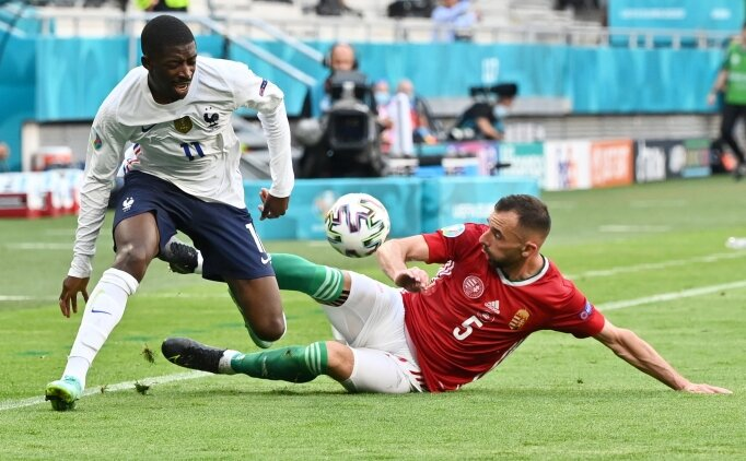 Dembele, EURO 2020'yi kapattı