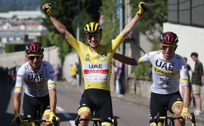 Tadej Pogacar, Fransa'da yine şampiyon!