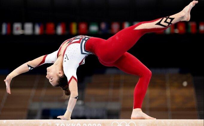 Alman kadın cimnastikçiler, Tokyo 2020'ye tüm vücudu örten mayolarla katıldı