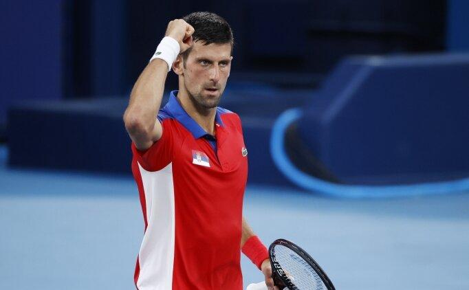 Novak Djokovic, Tokyo'da çeyrek finalde!