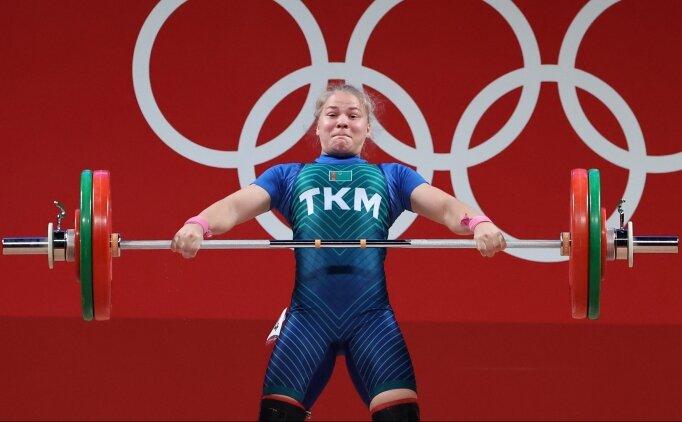 Türkmenistan'a ilk olimpiyat madalyasını Polina Guryeva kazandırdı