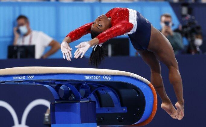 ABD'li cimnastikçi Simone Biles'a destek mesajı yağıyor!