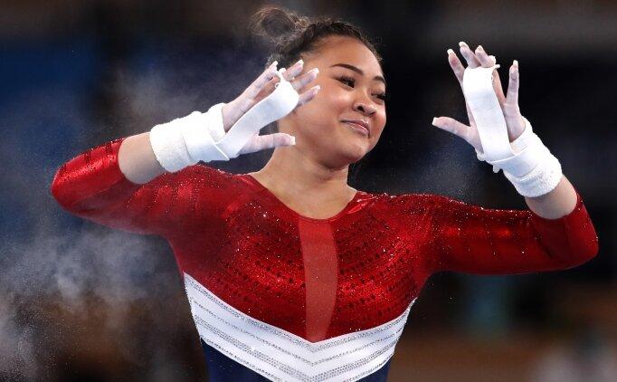 Cimnastikte zafer Sunisa Lee'nin