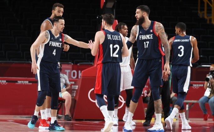 Tokyo'da basketbolda Fransa çeyrek finalde!