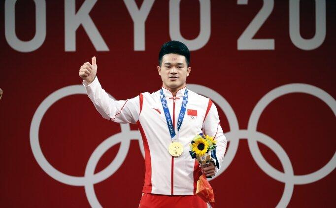 Zhiyong Shi, halterde 3 olimpiyat rekoru birden kırdı!