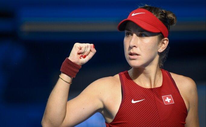 Teniste tek kadınlarda Belinda Bencic finale çıktı!