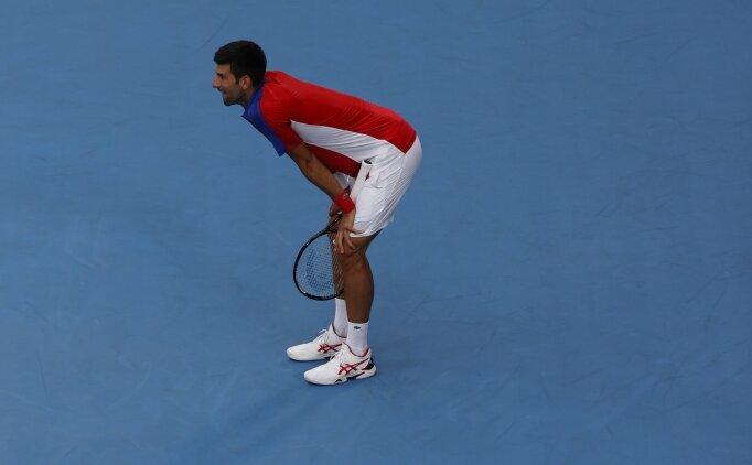 Novak Djokovic'in 'altın' hayali suya düştü!
