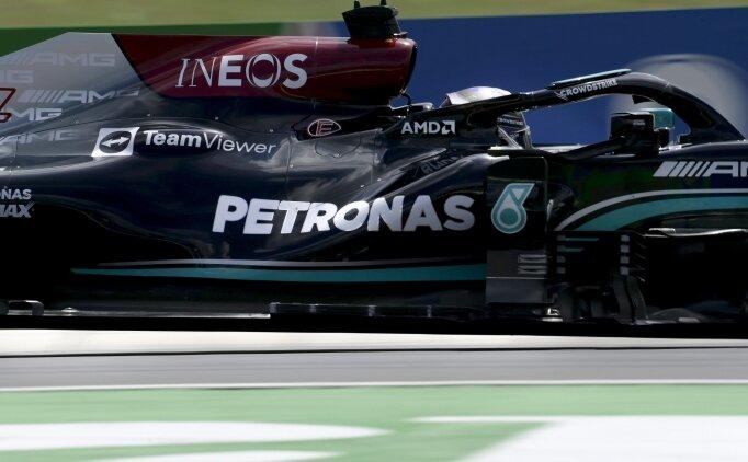 F1 Macaristan GP'de pole Lewis Hamilton'ın