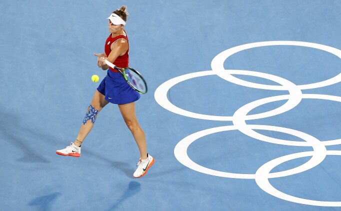 Tokyo'da altın madalya Belinda Bencic'in