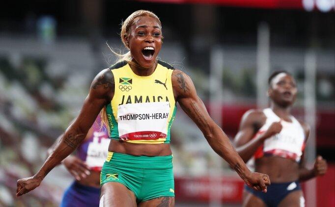 Kadınlar 100 metrede 33 yıllık olimpiyat rekoru kırıldı!