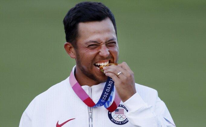 Golfte erkeklerde altın madalya Xander Schauffele'nin!