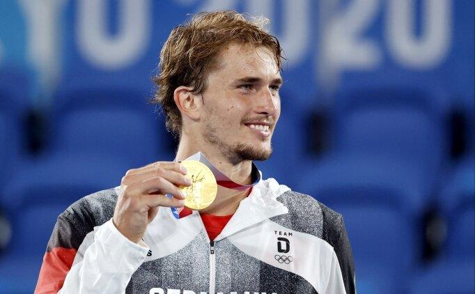 Alexander Zverev, olimpiyat şampiyonu oldu!