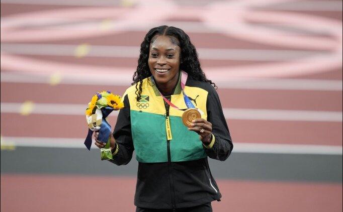 Kadınlar 200 metre finalini Thompson-Herah kazandı