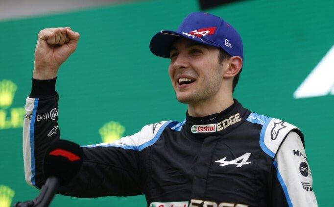 F1 Macaristan Grand Prix'sinde bir ilk; Esteban Ocon