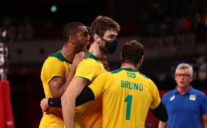 Erkek voleybolda Brezilya yarı finalde!