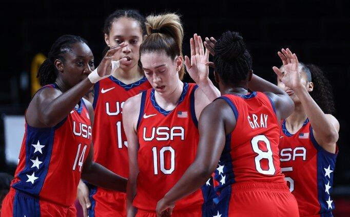 Kadın basketbolunda ABD yarı finalde!