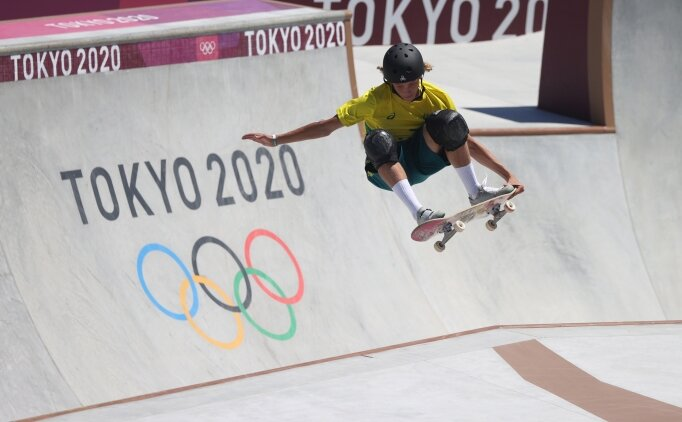 Kaykay'da altın madalya Avustralyalı Palmer'ın