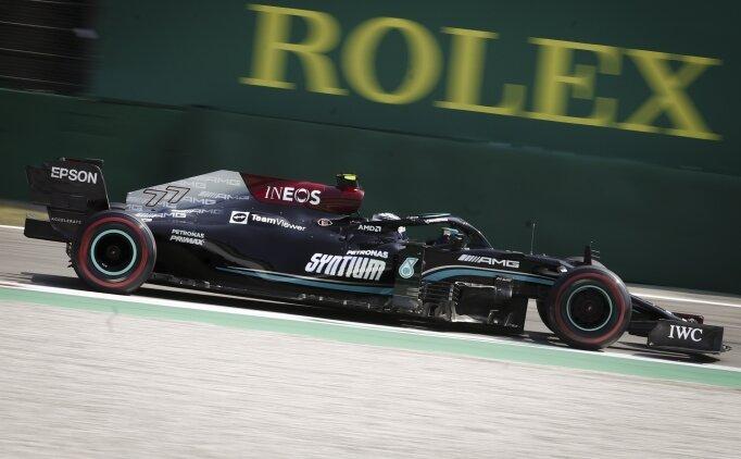 Monza'da sprint yarışını Bottas kazandı