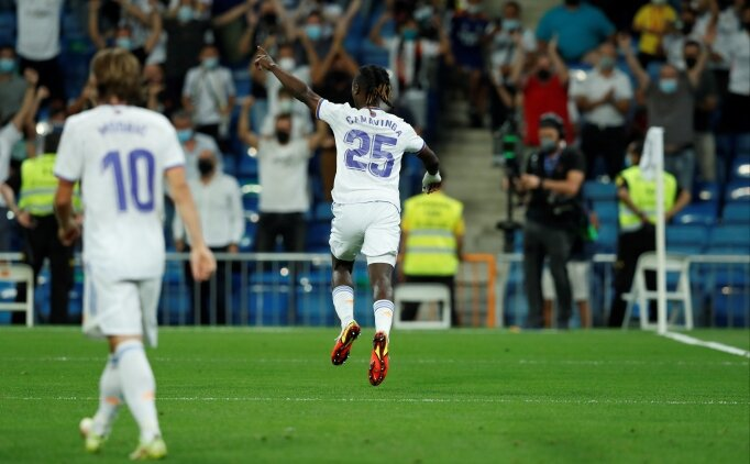 Camavinga, Real Madrid'e 'makine' gibi başladı!
