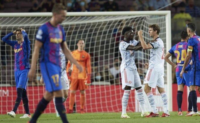 Bayern Münih, Barcelona'ya çok ağır geldi: 3-0