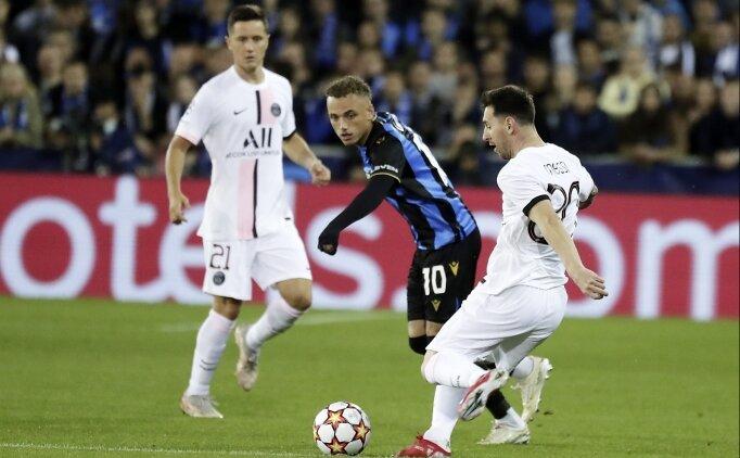 Rüya kadroya çelme: PSG, Brugge'ü geçemedi