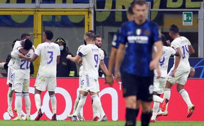 Real Madrid, Inter deplasmanında 89'da fişi çekti