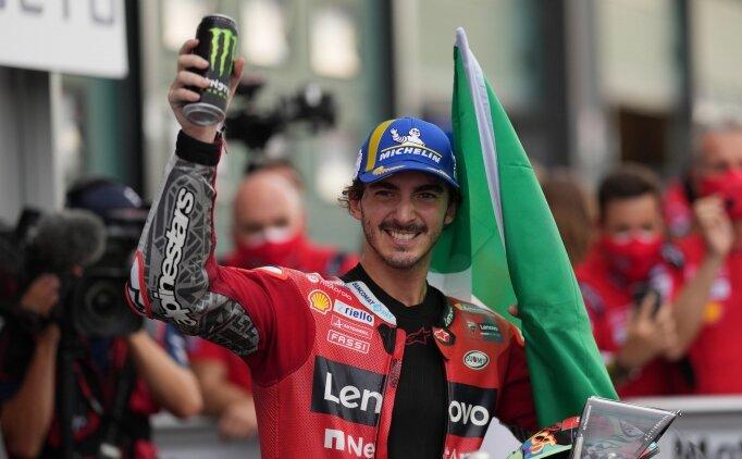 MotoGP San Marino Grand Prix'sinde zafer Bagnaia'nın oldu
