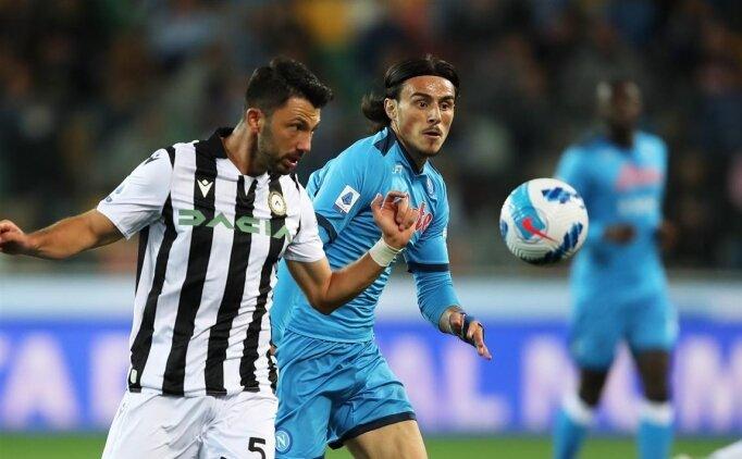 Napoli, Udinese'yi deplasmanda 4-0 yenerek lider oldu
