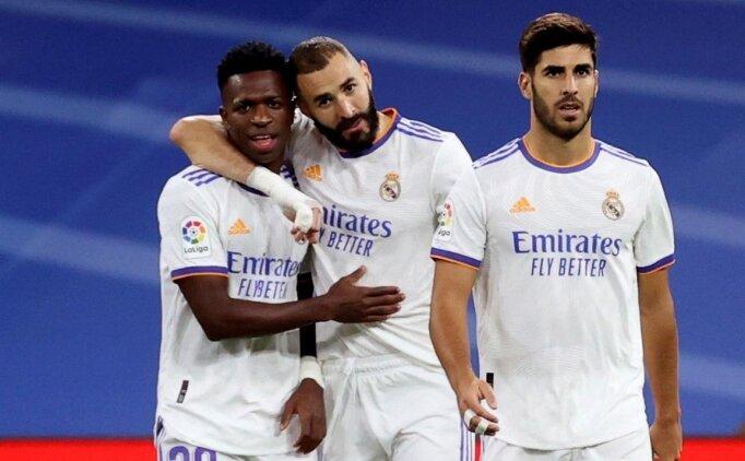 Real Madrid Mallorca'ya evinde gol yağdırdı