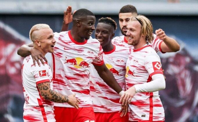 Leipzig'in Hertha Berlin'e 6 attığı maçı özeti