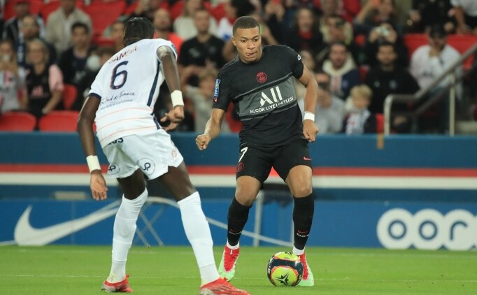 PSG, 8'de 8 yaptı! Montpellier'i de geçtiler
