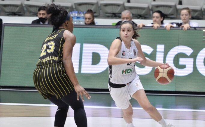 Beşiktaş HDI Sigorta, sahasında kazandı