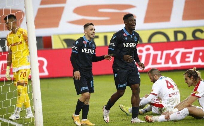 Trabzonspor tek golle kazandı!