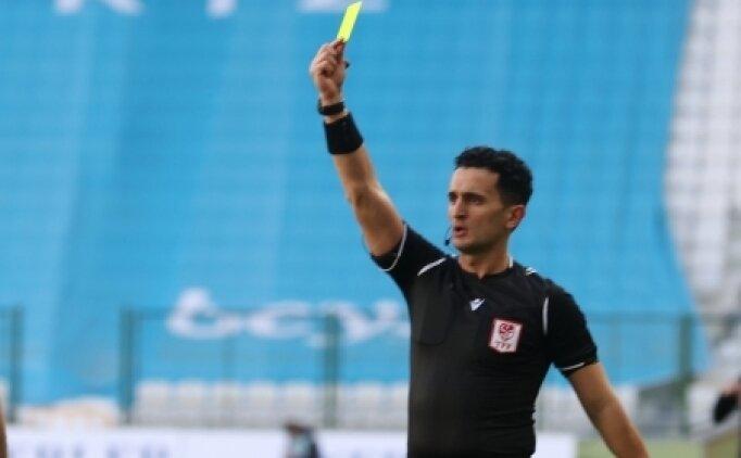 TFF 1. Lig'de 31. hafta hakemleri belli oldu