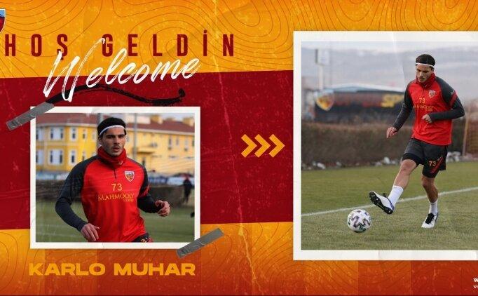 Kayserispor, Hırvat futbolcu Karlo Muhar'ı transfer etti!