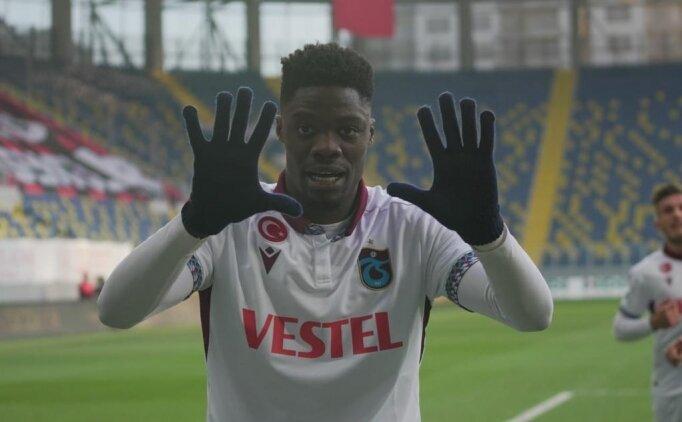 Trabzonspor'da tüm goller Abdülkadir için!