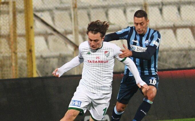 Bursaspor'a 3 puanı Ali Akman getirdi