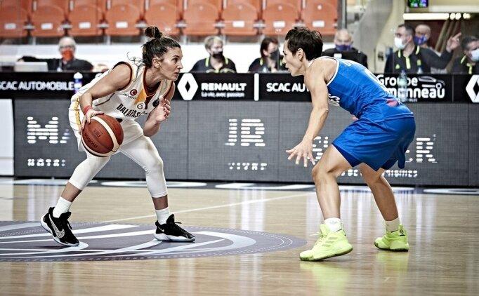 Galatasaray, Kadınlar EuroLeague maçını kazandı