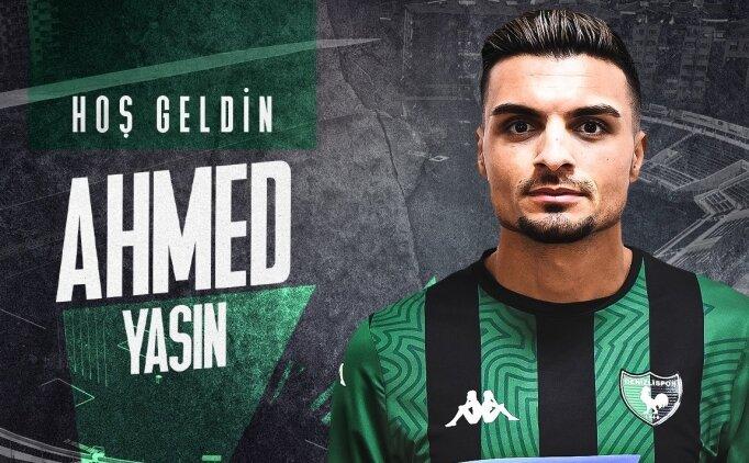 Yukatel Denizlispor, Iraklı Ahmed Yasin'i kadrosuna kattı