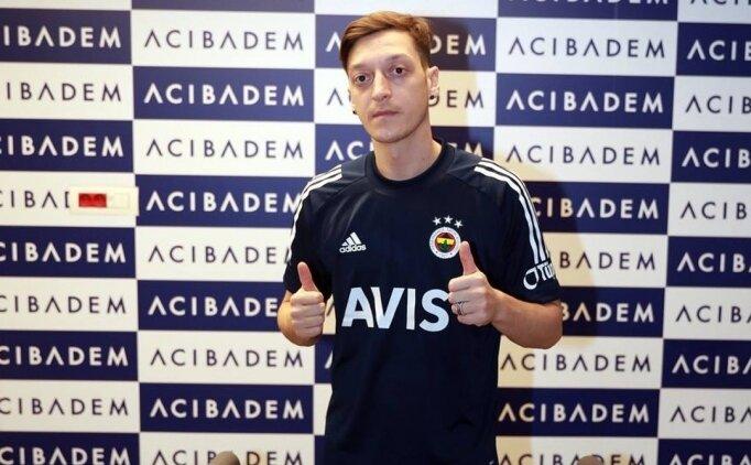 Fenerbahçe'de Mesut Özil sağlık kontrolünden geçirildi
