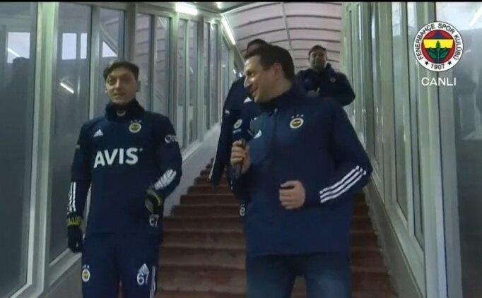 Mesut Özil Fenerbahçe'de ilk idmanına çıktı