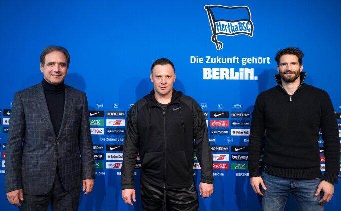 Hertha Berlin'in teknik direktörü yeniden Pal Dardai oldu
